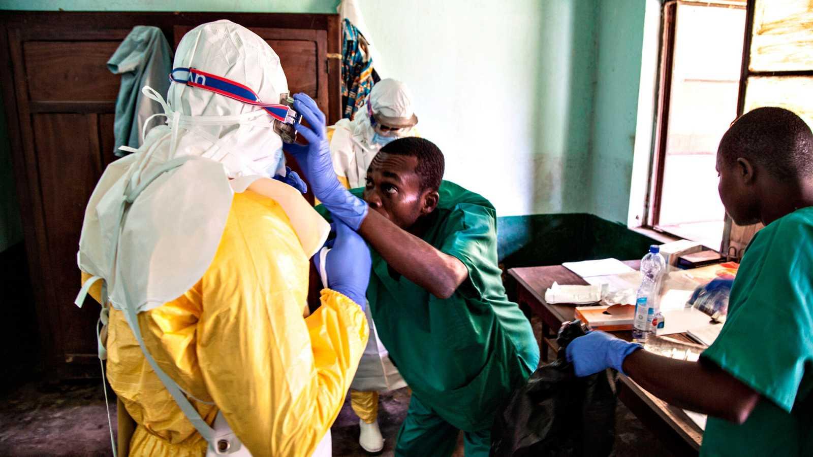 La República Democrática del Congo lucha contra la expansión del nuevo brote de ébola