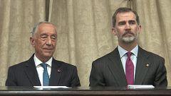 España y Portugal estrechan lazos con la Universidad de Salamanca como testigo