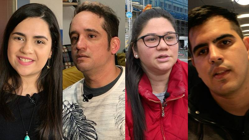 Venezolanos en España, supervivientes de una patria en quiebra