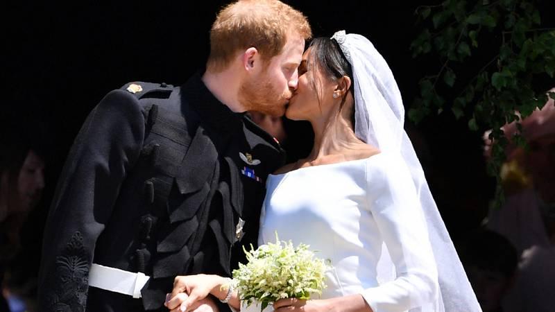 Así ha sido la boda del príncipe Harry de Inglaterra y Meghan Markle