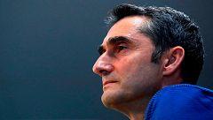 """Valverde: """"Ha sido un honor disfrutar del juego de Iniesta"""""""