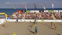 Voley playa - Madison Beach Voley Tour. Copa de España, Final femenina