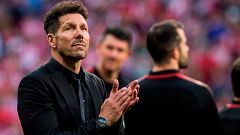 """Simeone: """"El legado de Torres va más allá de los goles, es el legado del trabajo"""""""