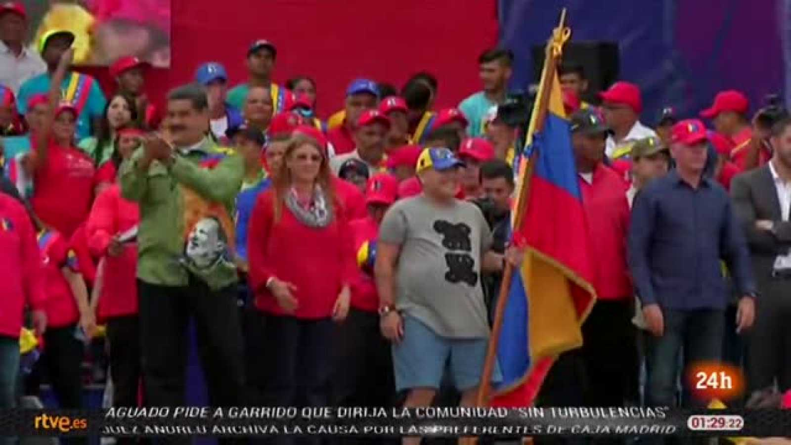 El boicot de la oposición facilita la reelcción de Maduro como presidente