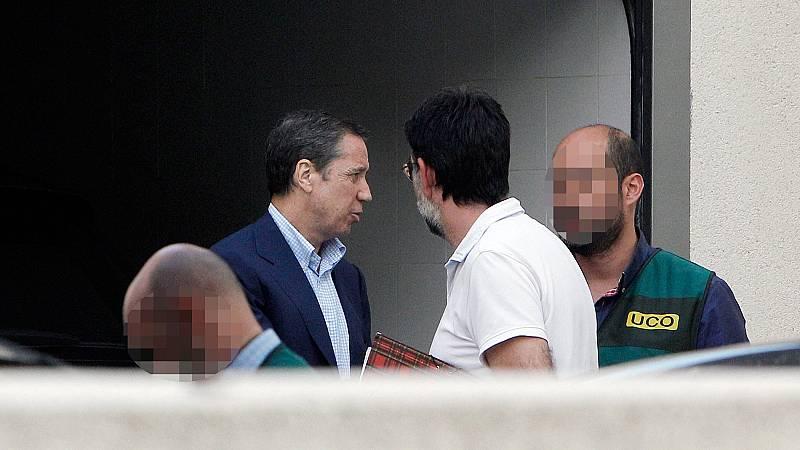 La Guardia Civil traslada a Zaplana a Madrid para practicar nuevos registros