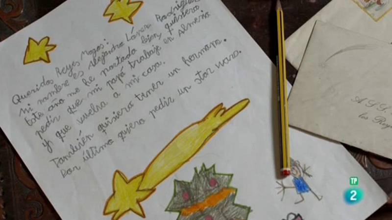 Cartas en el tiempo - Cartas a los Reyes Magos: entre 1899 y 2016