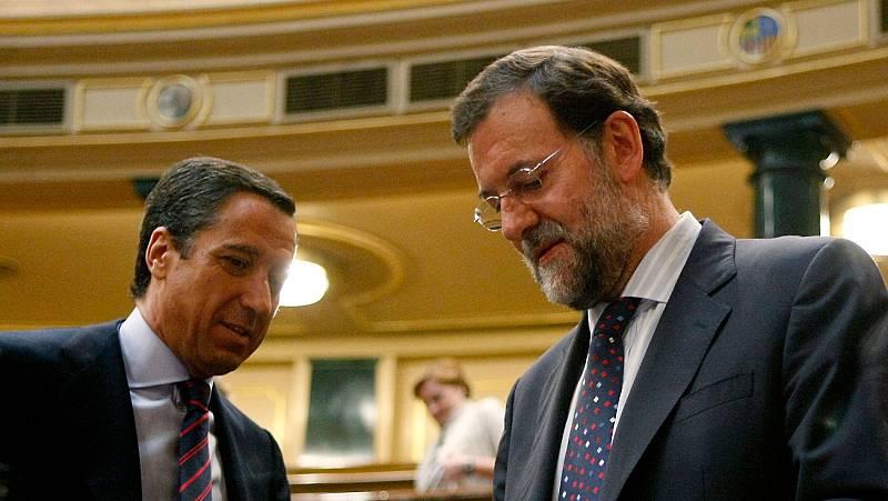 """Rajoy, sobre Zaplana: """"Es una de las noticias que no me hubiera gustado que se hubiera producido nunca"""""""