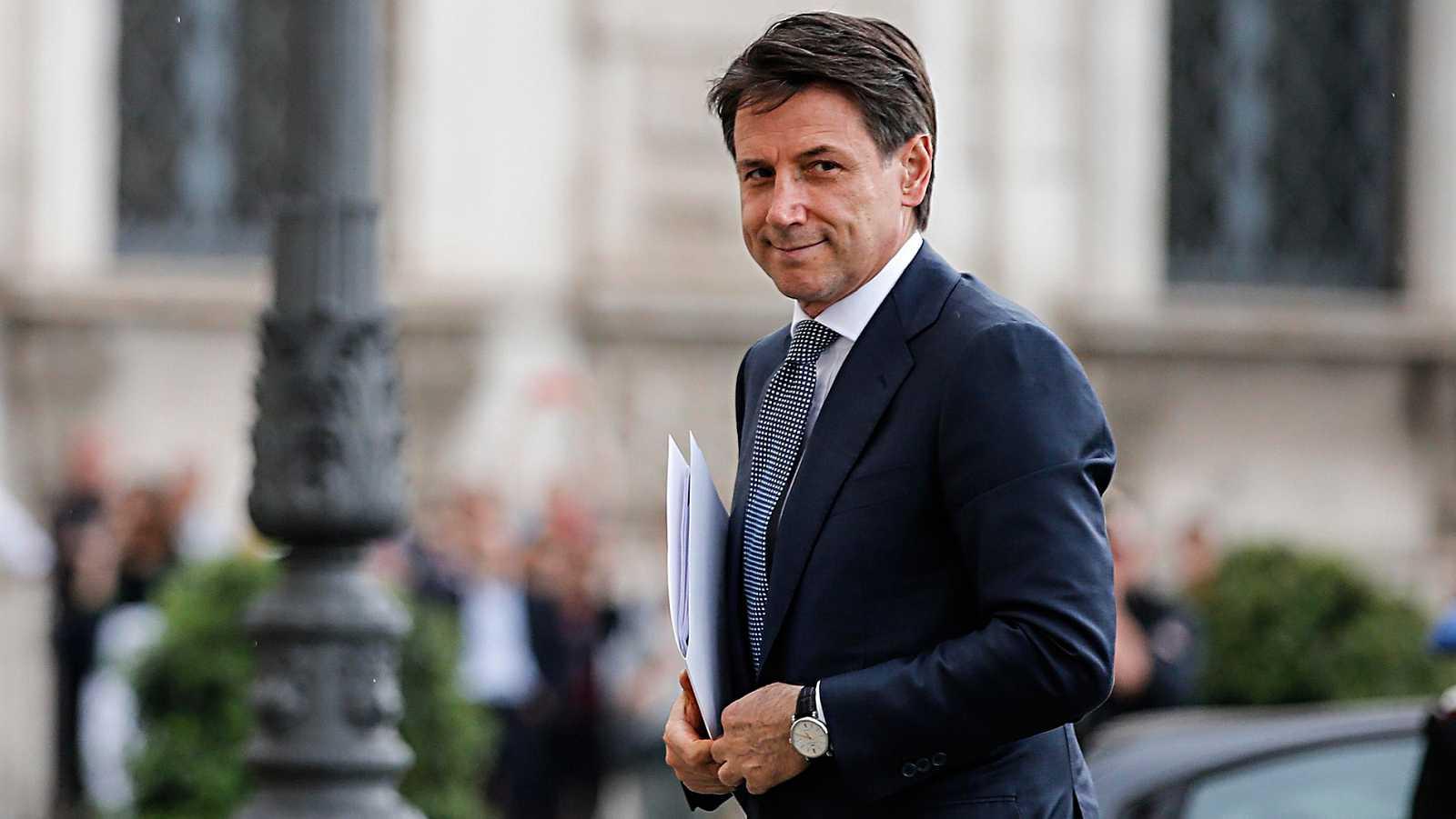 Giuseppe Conte recibe el encargo de formar gobierno | RTVE.es