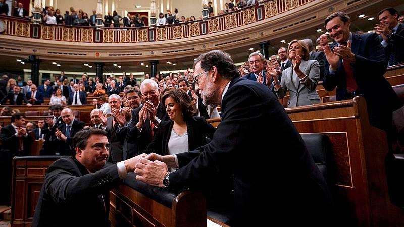 Los partidos de izquierdas apoyan la moción contra Rajoy que PNV, CC y Bildu aún deben analizar