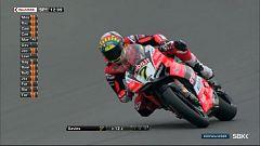 Motociclismo - Campeonato del Mundo Superbike. Superpole Prueba Donington Park (Inglaterra)