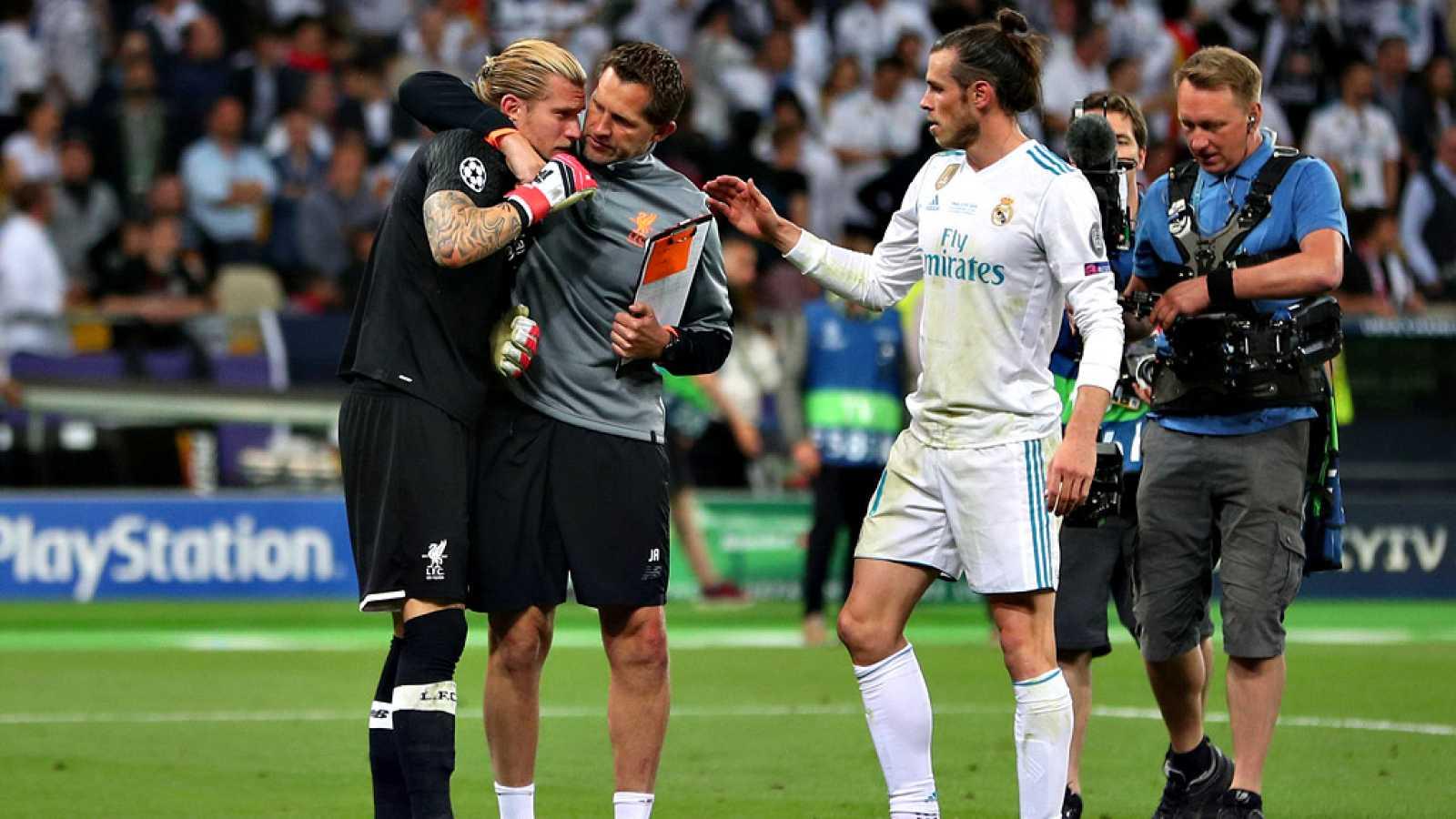 Los principales diarios europeos de la prensa deportiva han elogiado al Real Madrid después de añadir la decimotercera Liga de Campeones a su palmarés, merced a su victoria por 3-1 ante el Liverpool FC en la final disputada este sábado en el Estadio