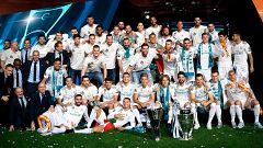 El Bernabéu celebra la Decimotercera en el final de fiesta blanco