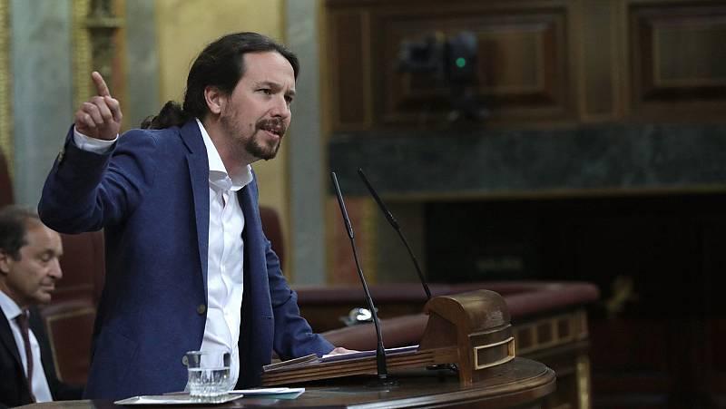 """Iglesias: """"Por fin mandamos al PP a casa"""""""