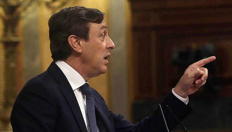 Rafael Hernando carga contra Sánchez por sus pactos para llegar a La Moncloa