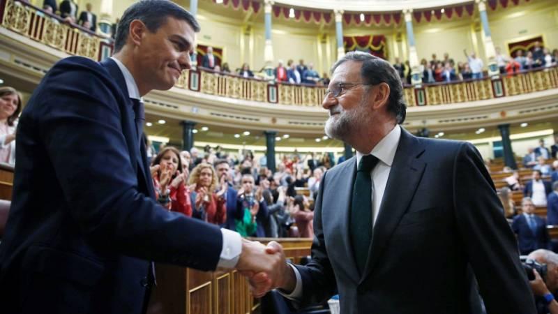 Especial informativo - Debate de la moción de censura del PSOE a Rajoy (8) - ver ahora