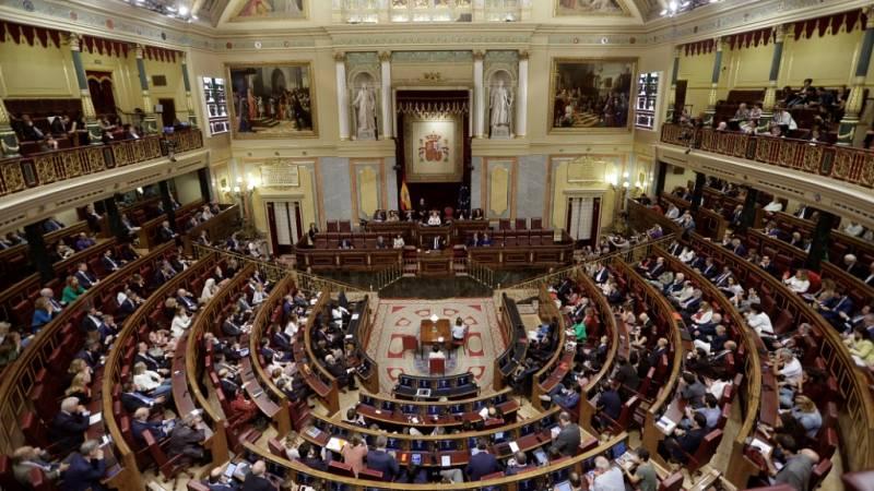 Especial informativo - Debate de la moción de censura del PSOE a Rajoy (7) - Lengua de signos - ver ahora
