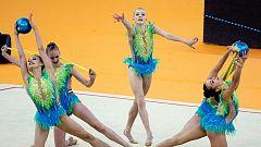 Gimnasia rítmica - Campeonato de Europa Finales individual Junior+Conjuntos Senior 2º ej. Grupo B,C,D