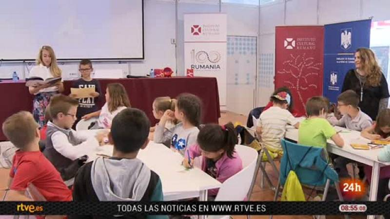 Las letras rumanas toman la feria del libro de Madrid