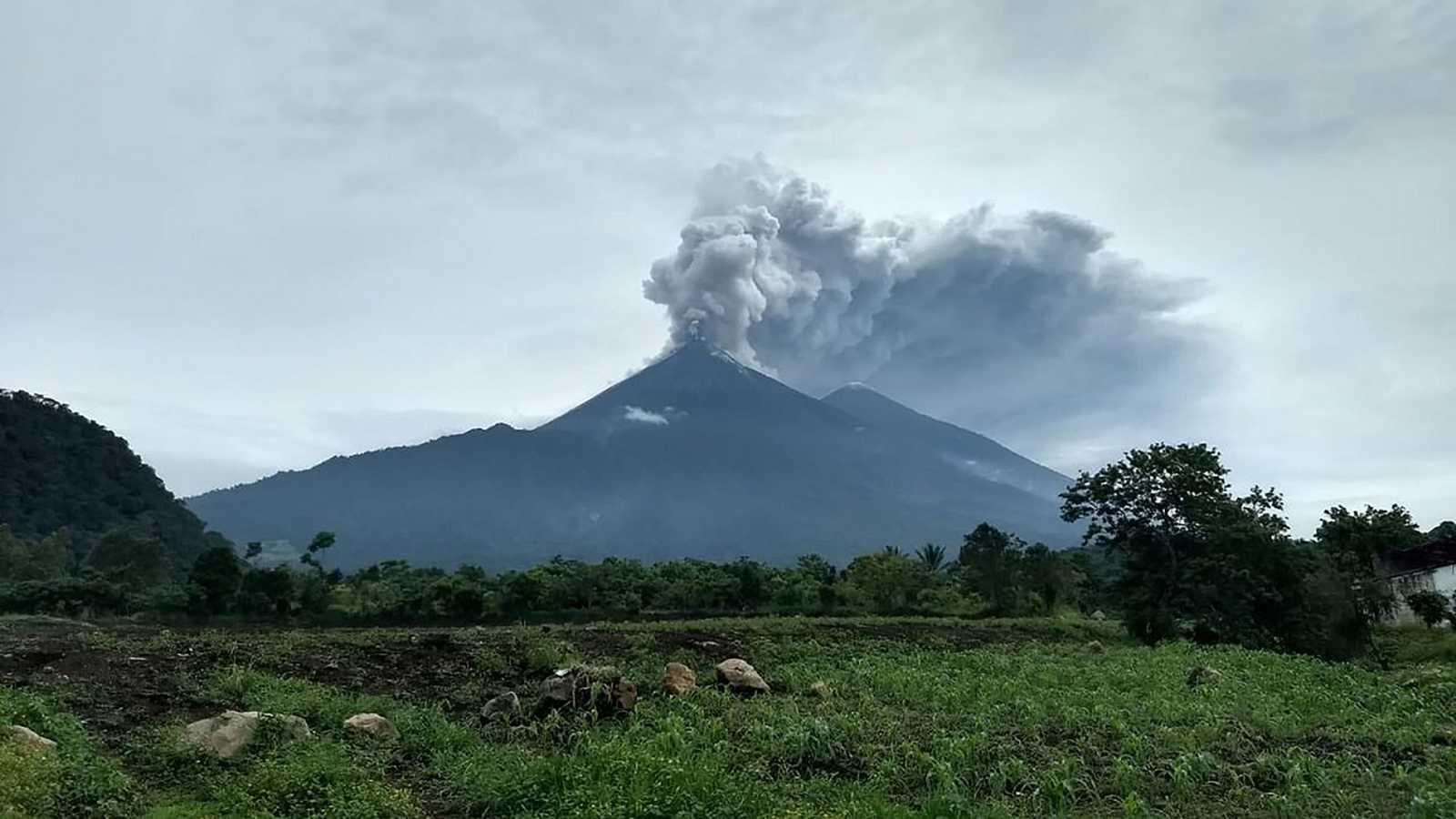 La erupción del volcán de Fuego deja ya 69 muertos y 1,7 millones de afectados en Guatemala