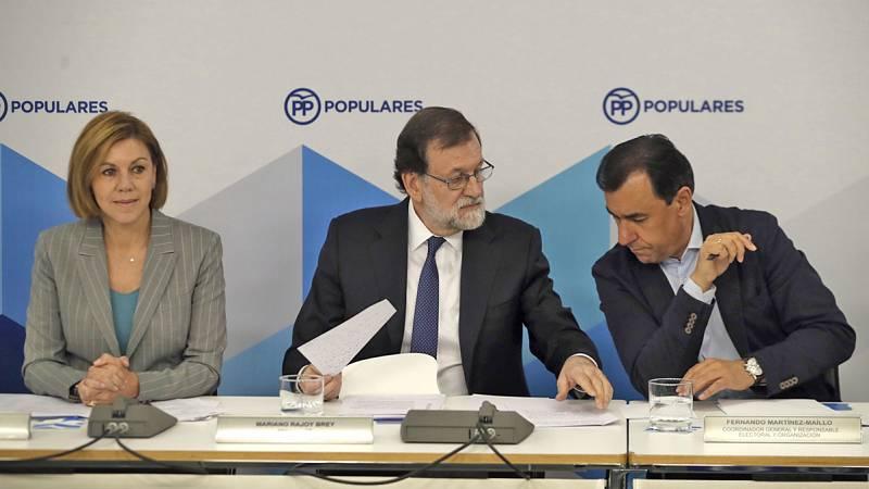 Rajoy reúne al Comité Ejecutivo del PP para analizar la situación tras perder el Gobierno por la moción de censura