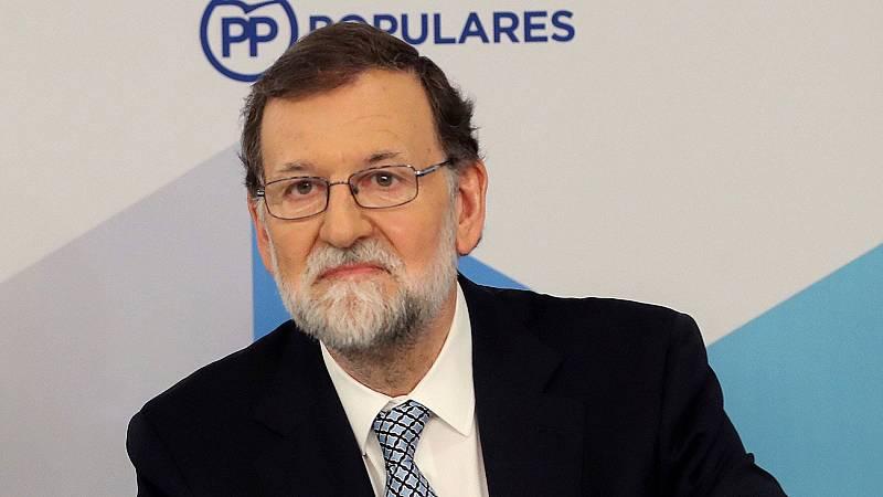 """Rajoy cree que la moción de censura es un """"ejemplo insuperable"""" de postverdad"""