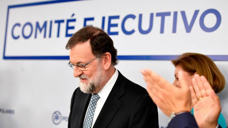 """Rajoy deja la presidencia del Partido Popular: """"Es lo mejor para mí, para el PP y para España"""""""
