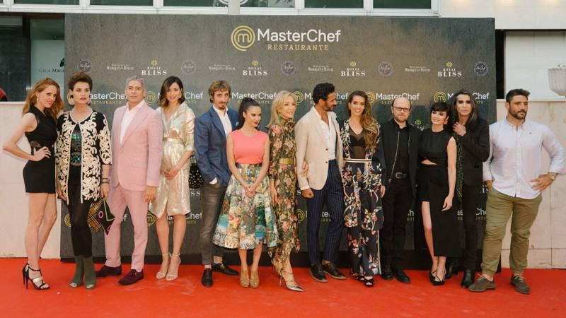 La familia 'Masterchef' se reúne en el restaurante del programa
