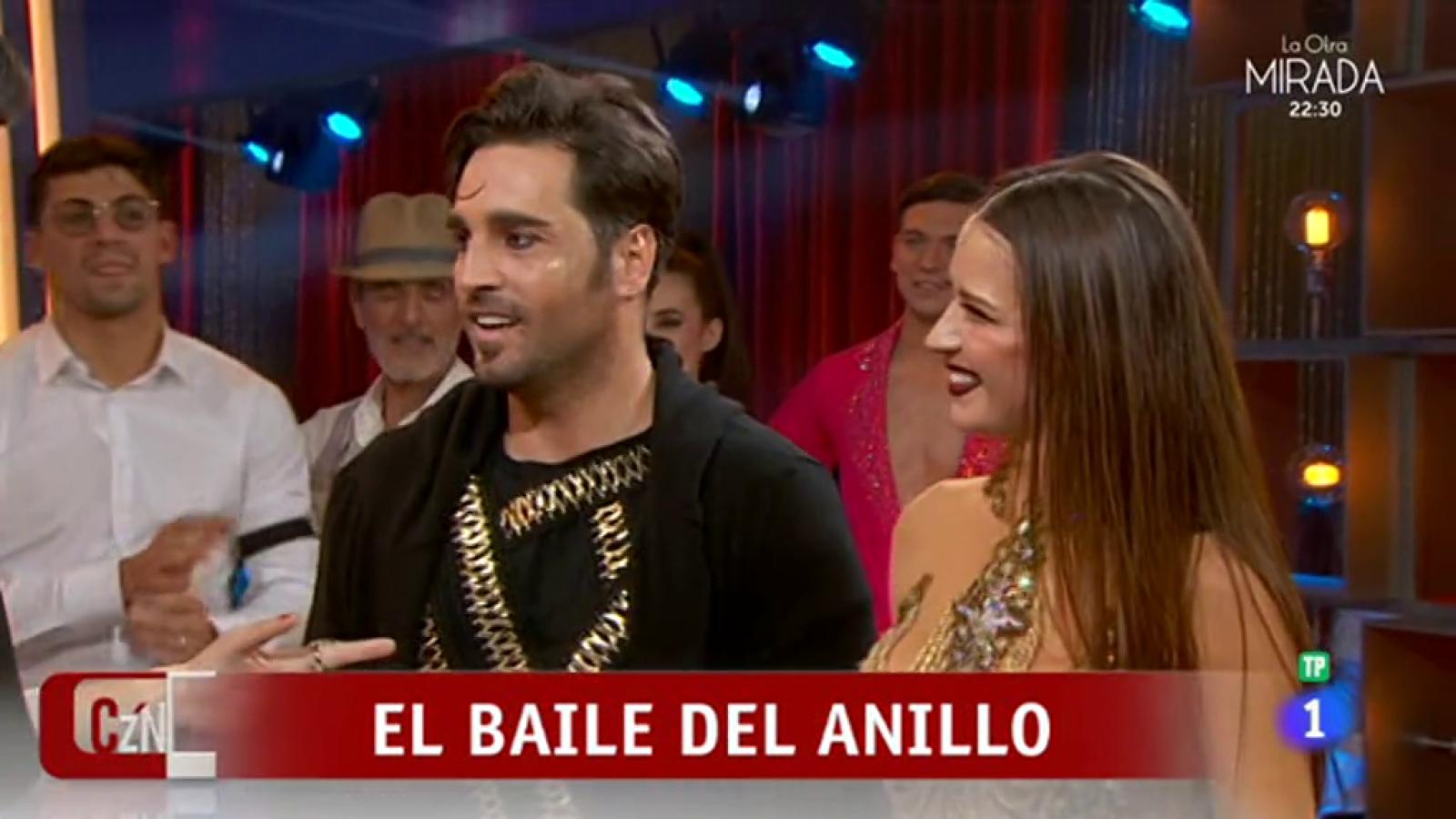 """Bailando con las estrellas - David Bustamante y Yana Olina sorprendieron al jurado al son de """"El anillo"""""""