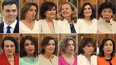 El gobierno de Sánchez es el de mayor proporción de mujeres en el mundo