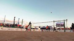 Voley playa - Madison Beach Volley Tour 2018. Prueba Melilla. Resumen