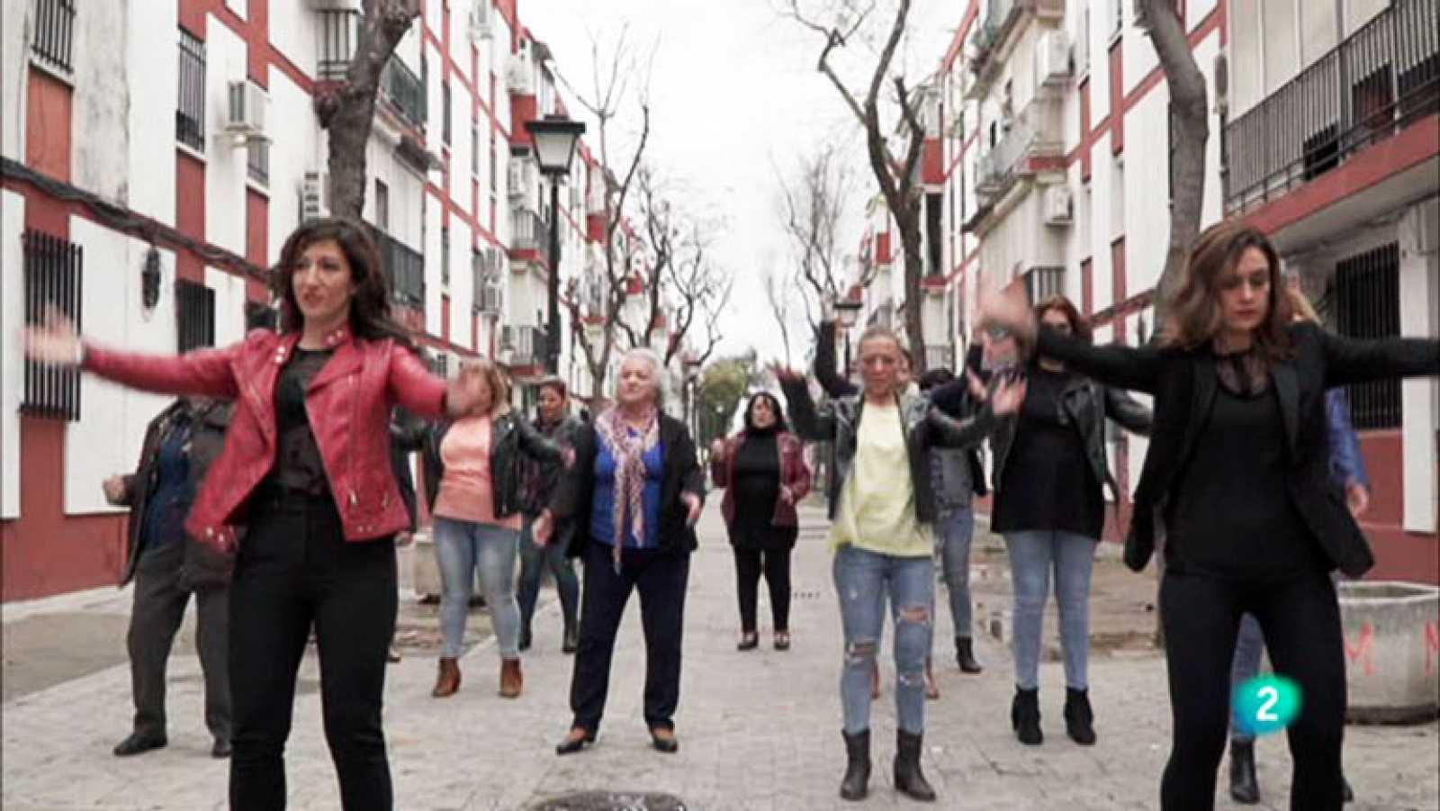 La aventura del saber. TVE.  'Bailar mi barrio' 2018. Sevilla.