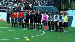 Fútbol para Ciegos - Campeonato del Mundo: España - Tailandia
