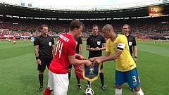 Fútbol - Amistoso Selecciones: Austria - Brasil, desde Viena