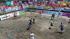 Balonmano Playa - Copa de España. Final Masculina, desde Torrox (Málaga)