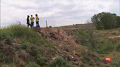 Repor - La fibra tóxica - 90 mil toneladas de residuos con amianto conviven cerca de una urbanización toledana