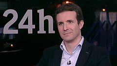 """Pablo Casado (PP), sobre la moción: """"No han apoyado a Sánchez, han querido echar al PP a la calle"""""""