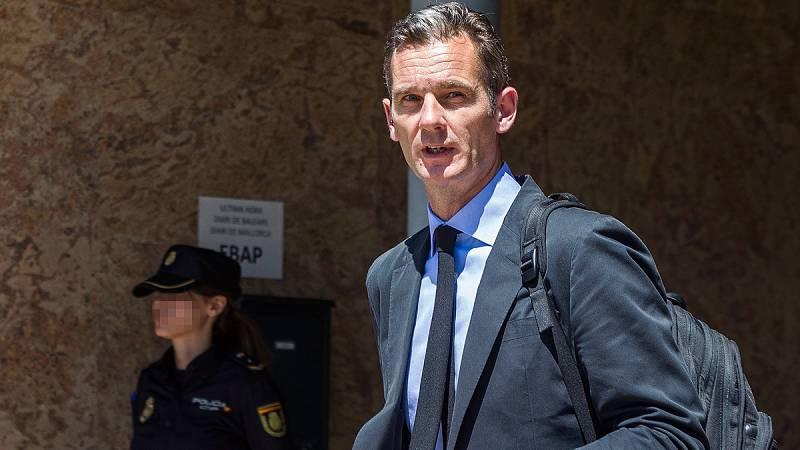 El Tribunal Supremo rebaja la condena de Urdangarin a cinco años y diez meses