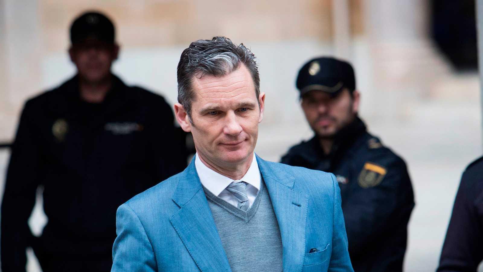 El Supremo rebaja la pena a Urdangarin pero le aboca a ir a prisión