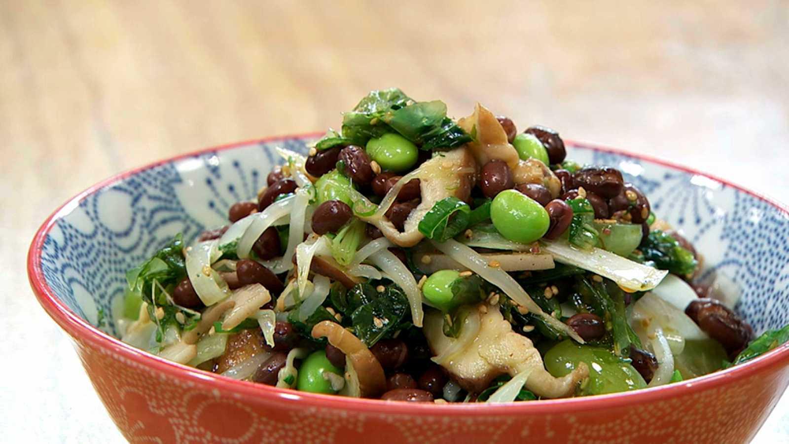 Torres en la cocina - Ensalada de legumbres