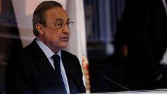"""Florentino Pérez denuncia la """"injusta y desproporcionada"""" reacción de Luis Rubiales"""