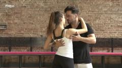 Bailando con las estrellas - Así han sido los ensayos de la gala temática de David Bustamante y Yana Olina