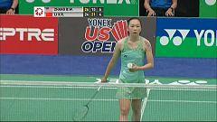 Bádminton - 'Open USA' Final Individual Femenina: Zhang B.W - Li X.R.