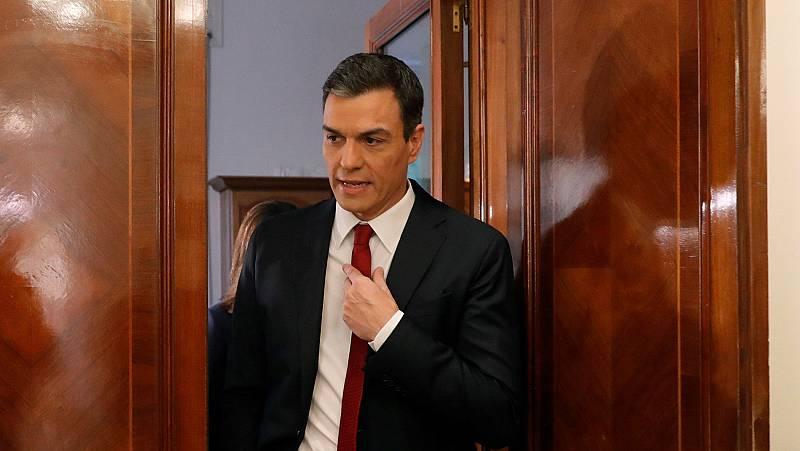 """Sánchez afirma que """"no existe una mayoría parlamentaria"""" suficiente para derogar la reforma laboral en su totalidad"""