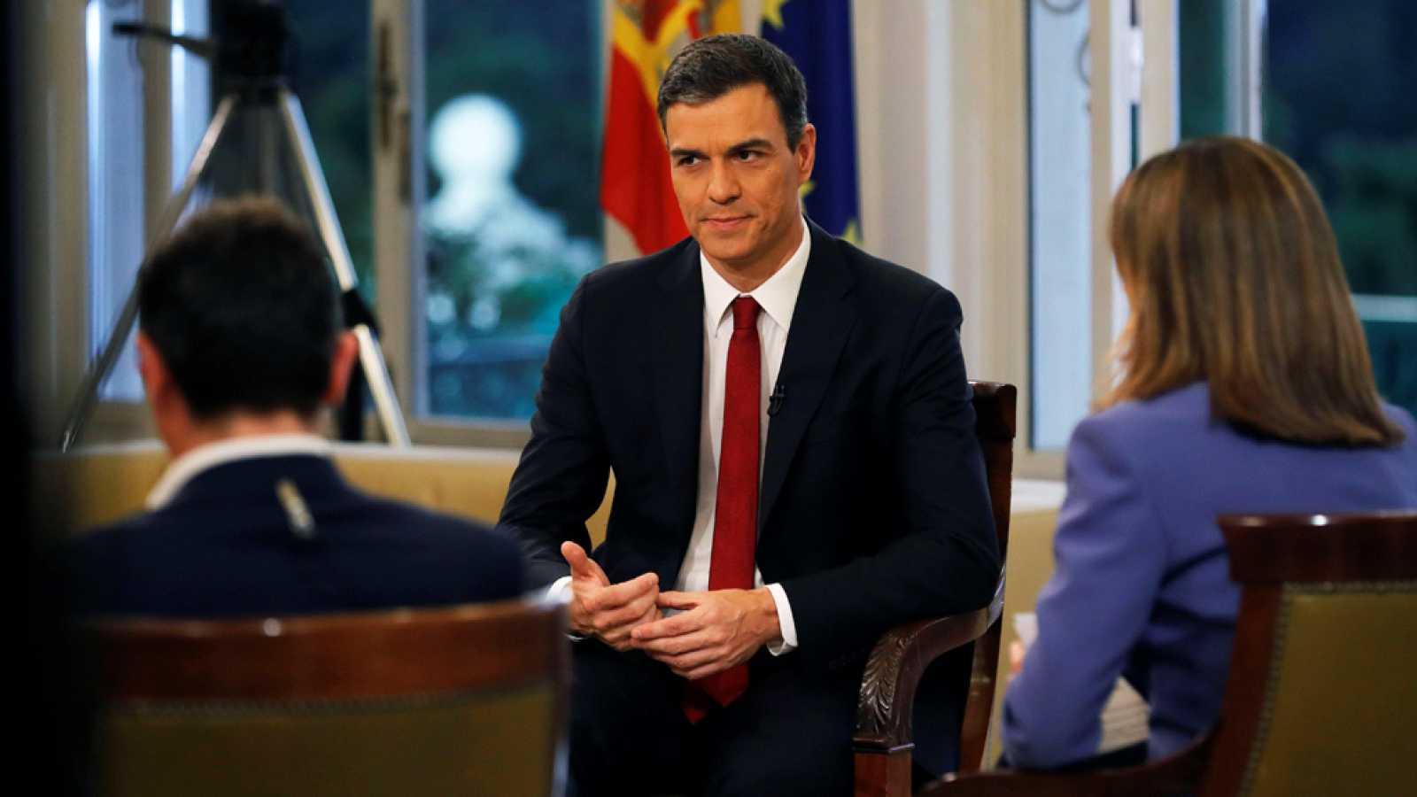 Especial informativo - Entrevista al presidente del gobierno, Pedro Sánchez - ver ahora