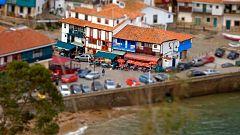 Así empieza la visita de 'El paisano' en el pueblo asturiano de Tazones
