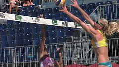 Voley playa - Madison Beach Volley Tour 2018 desde Tarragona Resumen