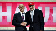 Luka Doncic, elegido número 3 del 'draft' de la NBA
