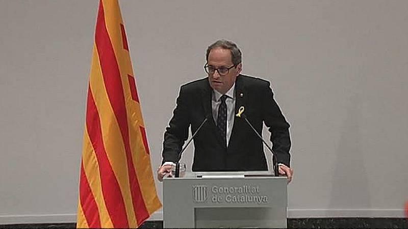 Torra rompe relaciones con el rey Felipe VI, pero asistirá a la inauguración de los Juegos Mediterráneos