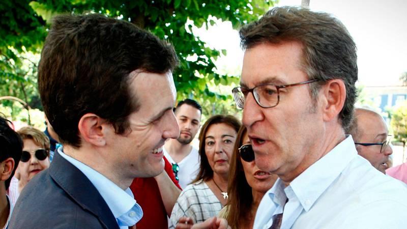 """Casado promete """"renovación de ideas"""" y Cospedal afirma que le habría gustado aplicar antes el 155 en Cataluña"""