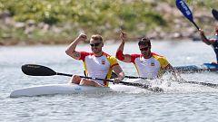 El piragüismo español logra cuatro medallas de oro en el Canal Olímpico